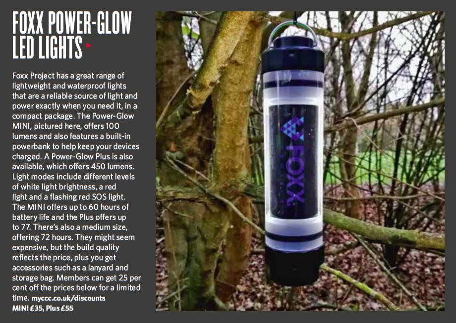 FOXX Project Power-Glow MINI