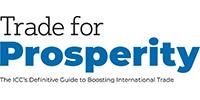 Logo for TRADE FOR PROSPERITY by International Chamber of Commerce (ICC) UK